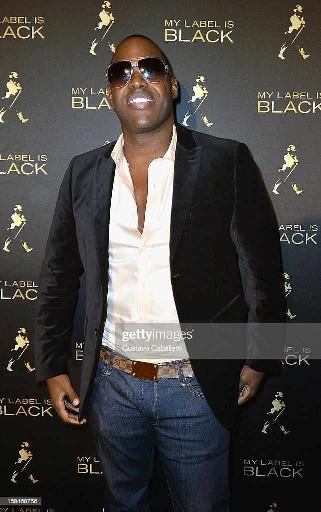 Magic Juan attends the Johnnie Walker My Label is Black - at Bongos on December 13, 2012 in Miami, Florida.