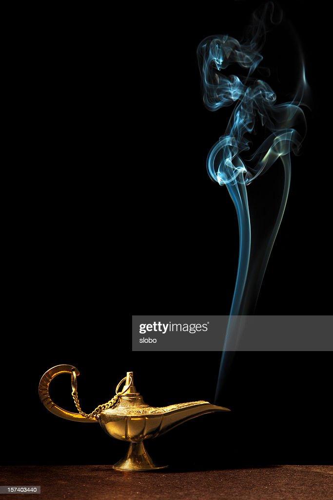 Magic Lamp And Genie