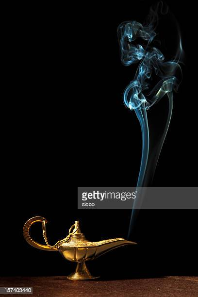 Magic Lamp And Genie