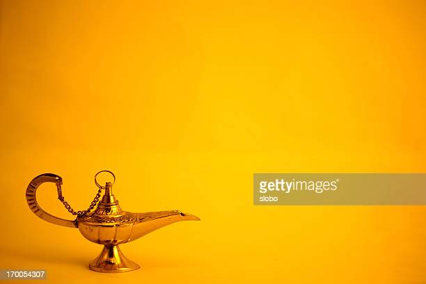 magic lamp - lamp stock-fotos und bilder