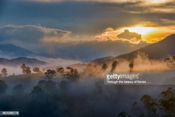 magic land idukki - valley stock pictures, royalty-free photos & images