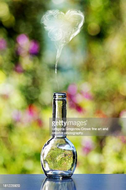 magic love potion - potion stock photos and pictures