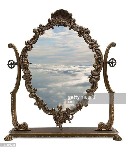 Magic Mirror with clipping path
