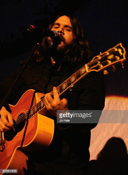 Magic Numbers perform on stage as support for Franz Ferdinand at the second in a series of 5 charity gigs in aid of the Teenage Cancer Trust which...