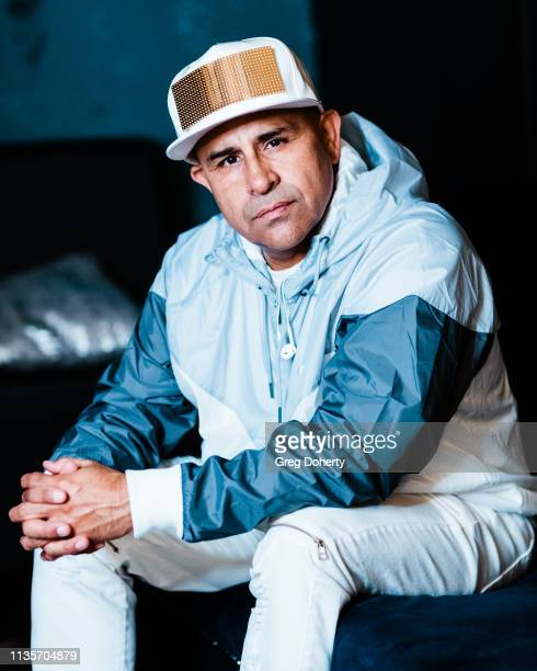 Magic poses for a portrait before he performs a Secret Show In Southern California at La Santa Modern Cantina on April 7 2019 in Santa Ana California