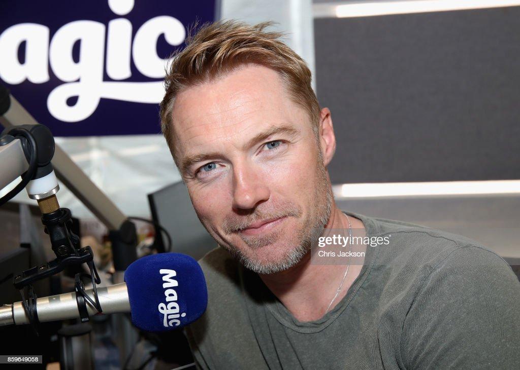 Boyzone Visit Magic Radio