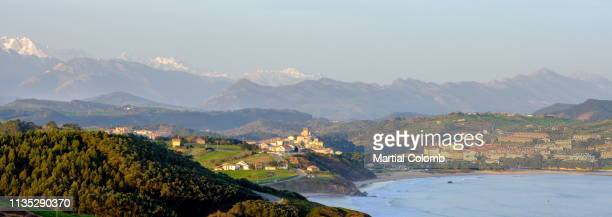 magic seascape in cantabria/spain - martial stock pictures, royalty-free photos & images