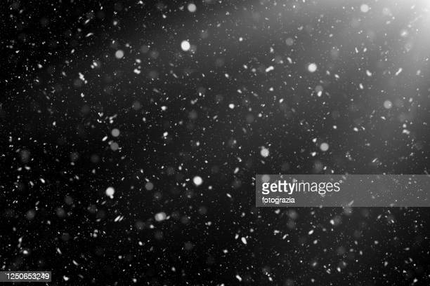 magic snowing - snow stock pictures, royalty-free photos & images