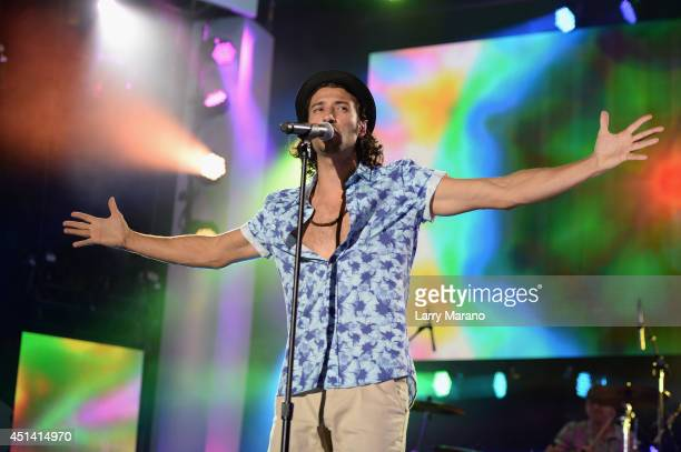 Magic vocalist Nasri performs onstage at the iHeartRadio Ultimate Pool Party presented by VISIT FLORIDA at Fontainebleau's BleauLive at Fontainebleau...