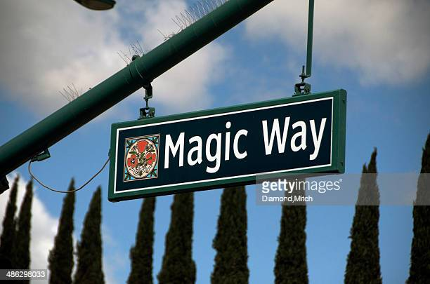 Magic Way street sign