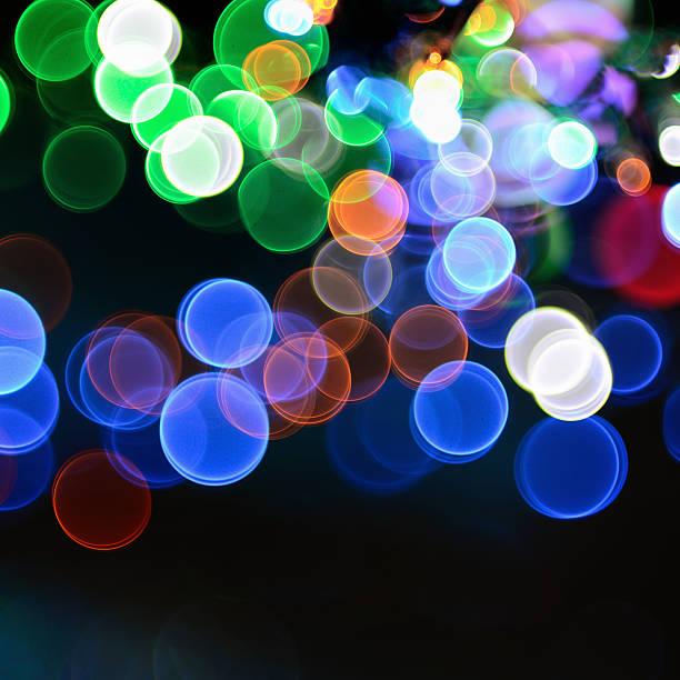 Magical Lights Background Wall Art