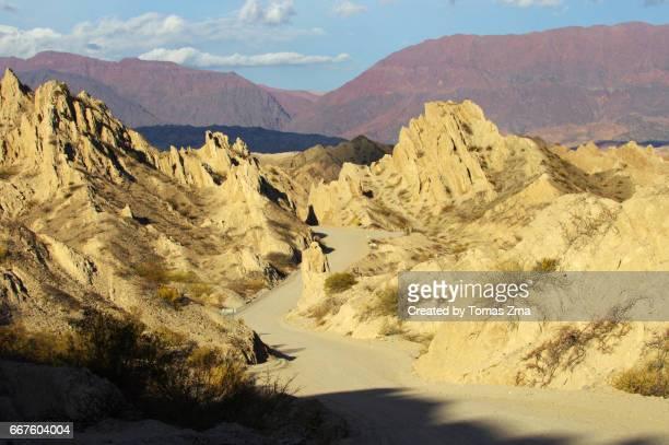 Magical shapes of Quebrada de Las Flechas
