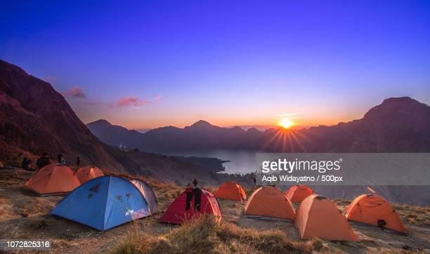 Magical Sunset Over Segara Anak Lake
