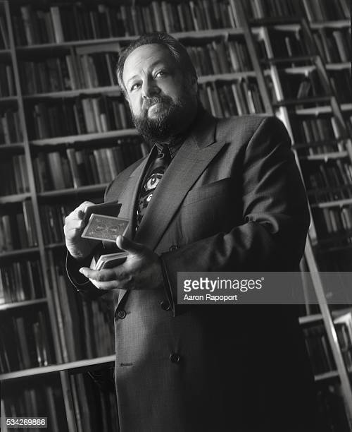 Magician actor writer Ricky Jay shot at his favorite bookstore in Los Angeles California in 1994