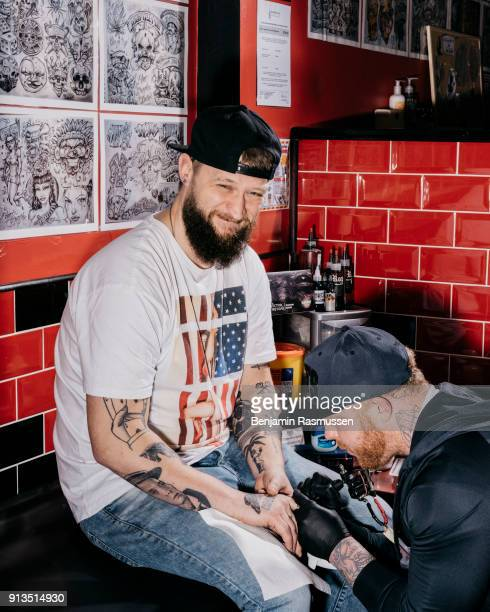 Magician Chris Ramsay his finger tattooed in Blackpool on February 20 2016 The most talented and innovative magicians in the world are working to...