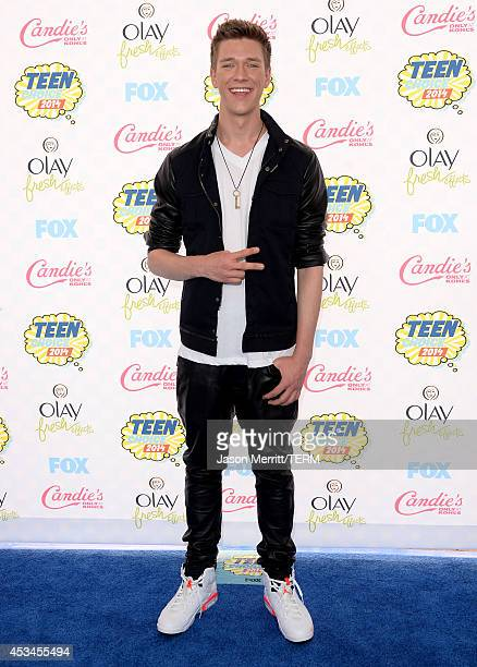 Magician Collins Key attends FOX's 2014 Teen Choice Awards at The Shrine Auditorium on August 10 2014 in Los Angeles California