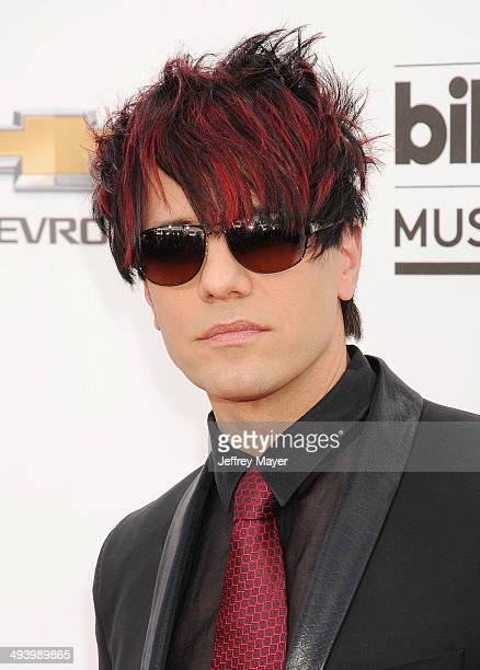 Magician Criss Angel arrives at the 2014 Billboard Music Awards at the MGM Grand Garden Arena on May 18 2014 in Las Vegas Nevada