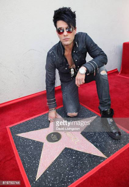 Magician Criss Angel attends his being honored with a Star on the Hollywood Walk of Fame on July 20 2017 in Hollywood California