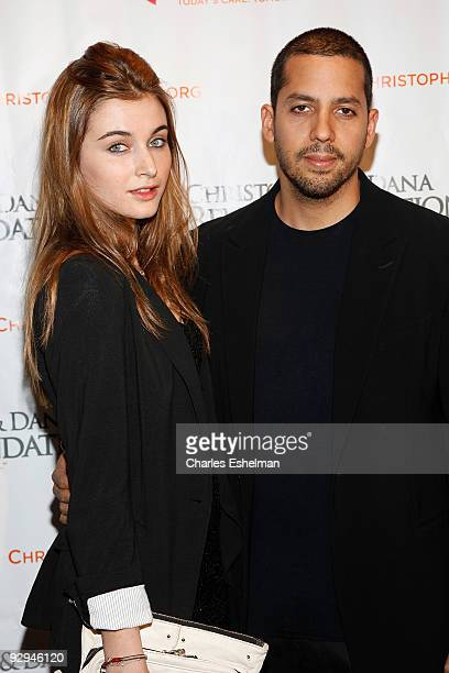 """Magician David Blaine and guest attend the Christopher & Dana Reeve Foundation's """"A Magical Evening"""" Gala at the Marriot Marquis on November 9, 2009..."""