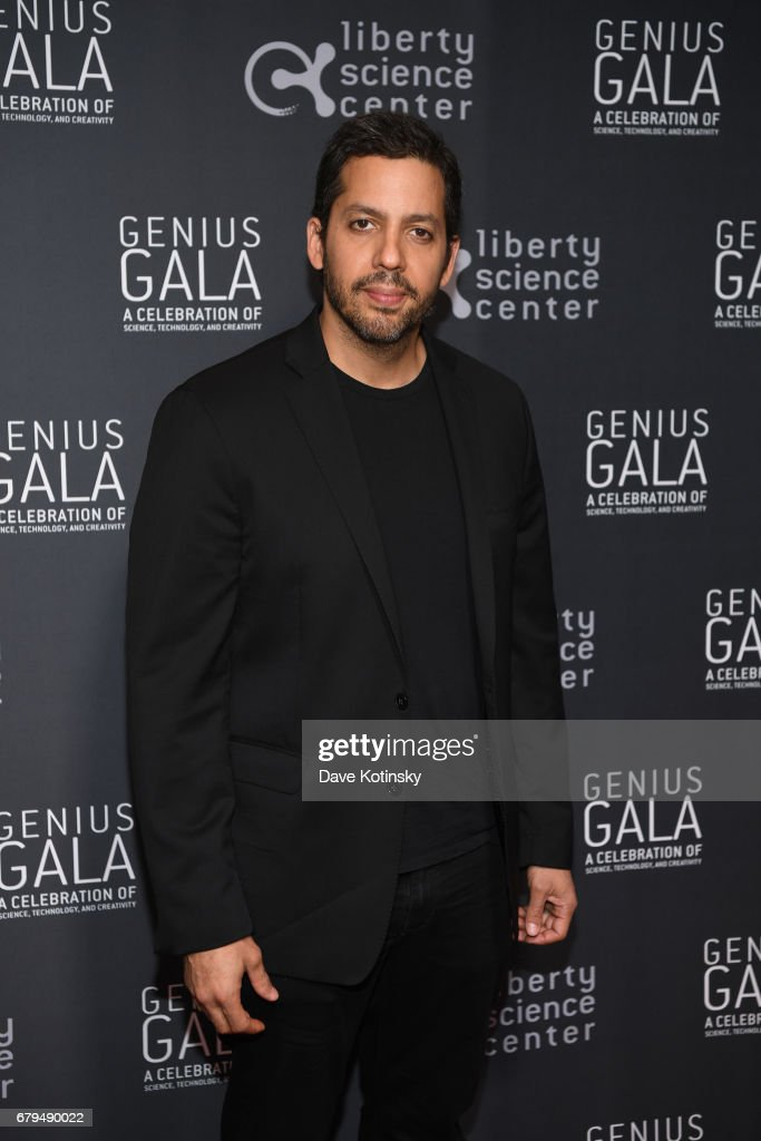 Magician David Blaine attends Genius Gala 6.0 at Liberty Science Center on May 5, 2017 in Jersey City, New Jersey.