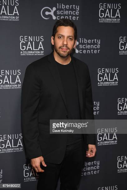 Magician David Blaine attends Genius Gala 60 at Liberty Science Center on May 5 2017 in Jersey City New Jersey