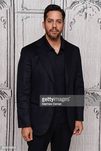 Magician David Blaine attends The Build Series to discuss his new special 'David Blaine Beyond Magic' at AOL HQ on November 15 2016 in New York City