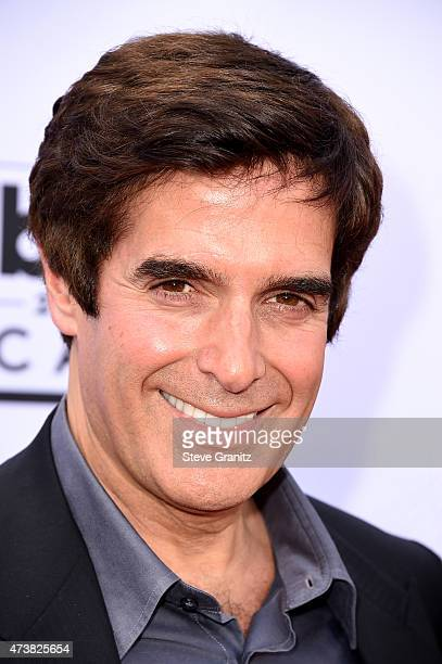 Magician David Copperfield attends the 2015 Billboard Music Awards at MGM Grand Garden Arena on May 17 2015 in Las Vegas Nevada