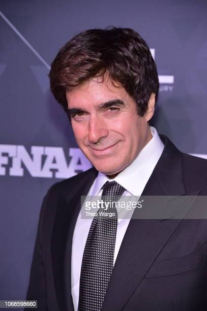 Magician David Copperfield attends the 2018 Footwear News Achievement Awards at IAC Headquarters on December 4 2018 in New York City