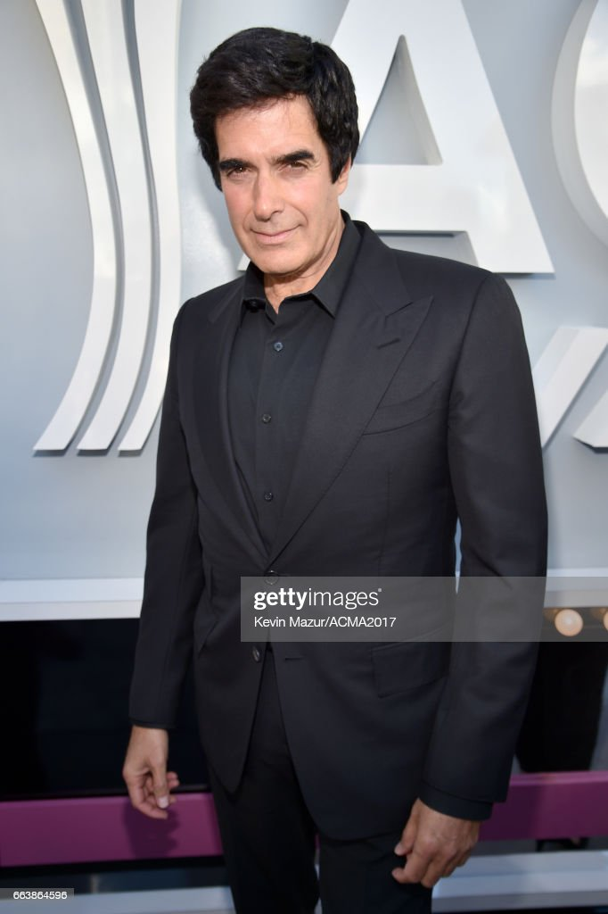 Magician David Copperfield attends the 52nd Academy Of Country Music Awards at Toshiba Plaza on April 2, 2017 in Las Vegas, Nevada.
