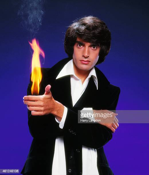 Magician David Copperfield poses for a portrait in 1985 in Los Angeles California