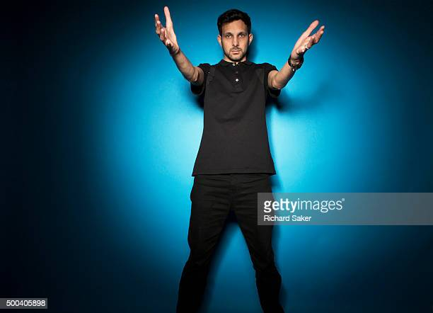 Magician Dynamo aka Steven Frayne is photographed for the Observer on September 18 2015 in London England