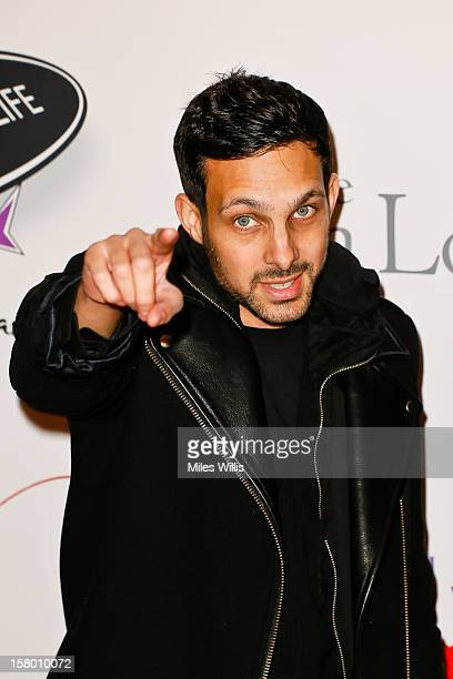 Magician Dynamo arrives at the Noble Gift Gala held at the ME Hotel on December 8 2012 in London England