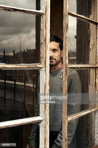Magician Dynamo is photographed for ES magazine on August 6 2014 in London England