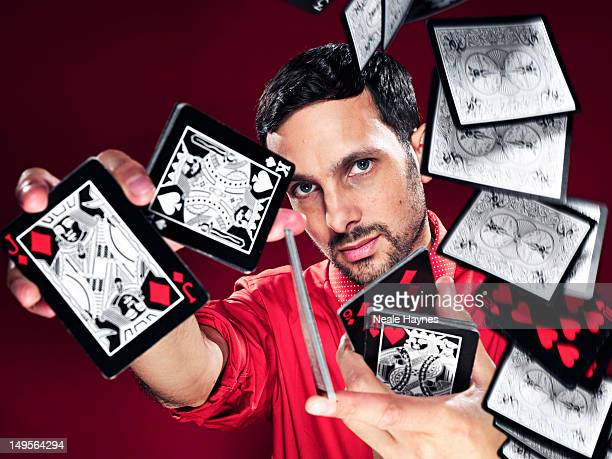 Magician Dynamo is photographed for Live magazine on June 5 2012 in London England
