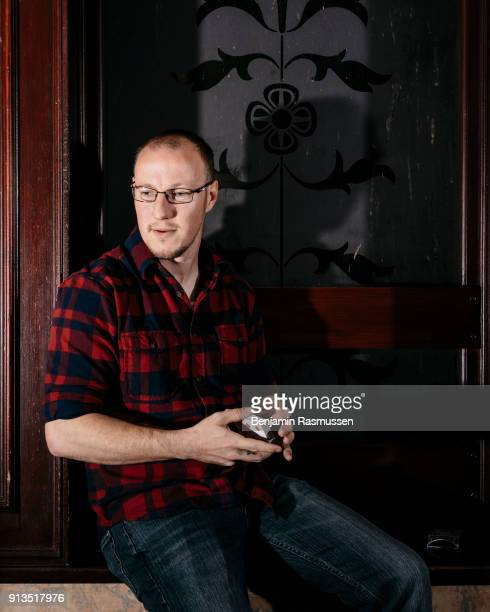 Magician Jeremy Griffith poses for a portrait in Blackpool on February 20 2016 The most talented and innovative magicians in the world are working to...
