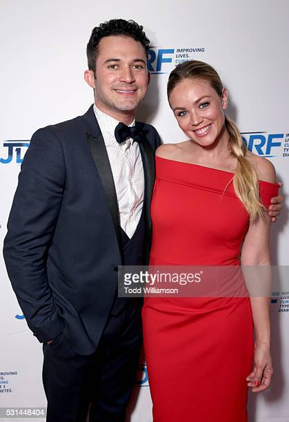Magician Justin Willman and photographer Jillian Sipkins attend JDRF LA's IMAGINE Gala to benefit type 1 diabetes research at The Beverly Hilton on...