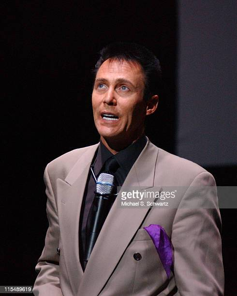 Magician Lance Burton during Comedians Perform for Katrina Relief at The Wiltern October 17 2005 at The Wiltern Theater in Los Angeles California...