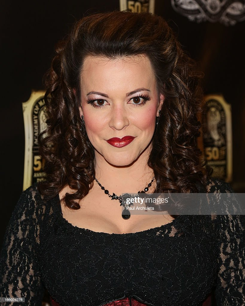 Magician Misty Lee attends the 45th annual AMA awards show at the Orpheum Theatre on April 7, 2013 in Los Angeles, California.