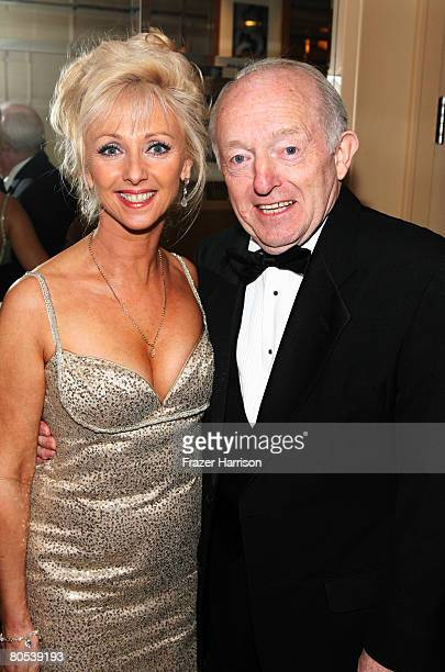 Magician Paul Daniels and wife Debbie McGee pose at the 40th Annual Academy Of Magical Arts Awards held at the Beverly Hilton Hotel on April 6 2008...