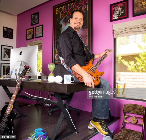 Magician Penn Jillette is photographed for Closer Weekly Magazine on June 15 2016 at home in Nevada