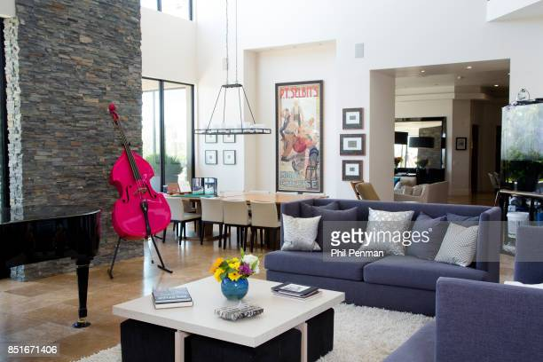 Magician Penn Jillette's home is photographed for Closer Weekly Magazine on June 15 2016 at home in Nevada PUBLISHED IMAGE