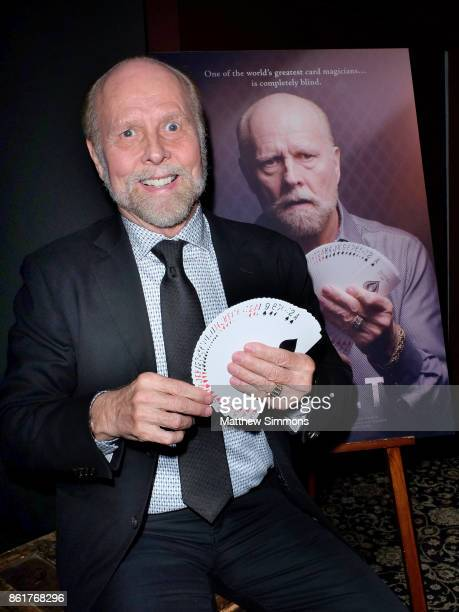 Magician Richard Turner at a special screening of 'DEALT' at The Magic Castle on October 15 2017 in Hollywood California