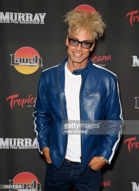 Magician/comedian Murray SawChuck attends his opening of Murray the Magician at the Laugh Factory inside the Tropicana Las Vegas on October 24 2018...
