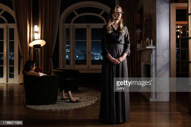 THE MAGICIANS Magicians Anonymous Episode 504 Pictured Stella Maeve as Julia Wicker Mageina Tovah as Zelda