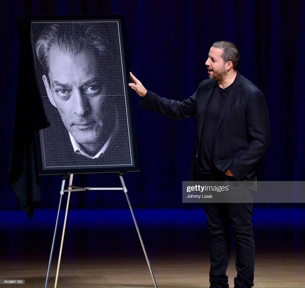 Magicians David Blaine performs during A Evening with Paul Auster & friends! MUSIC, MAGIC &