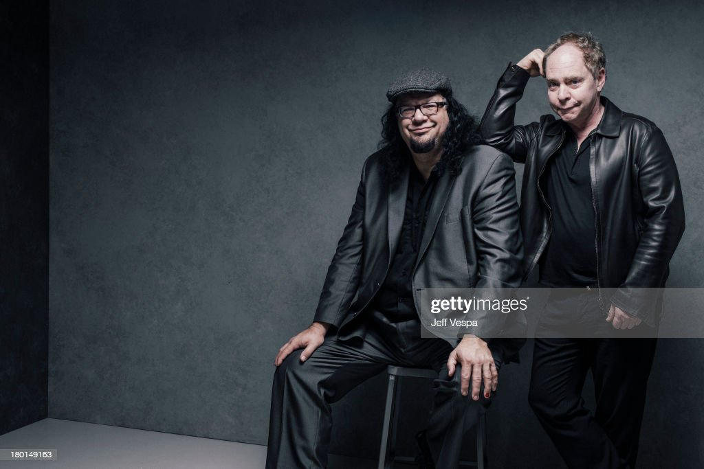 Magicians Penn & Teller are photographed at the Toronto Film Festival on September 9, 2013 in Toronto, Ontario.