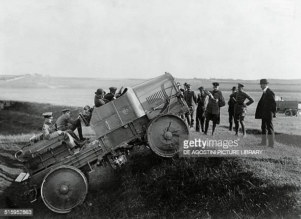 Magirus tractor circa 1914 Austria 20th century