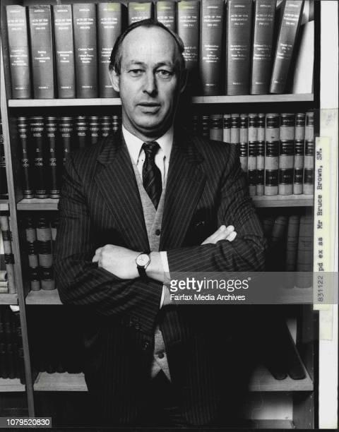 Magistrate Mr Bruce Brown June 07 1982
