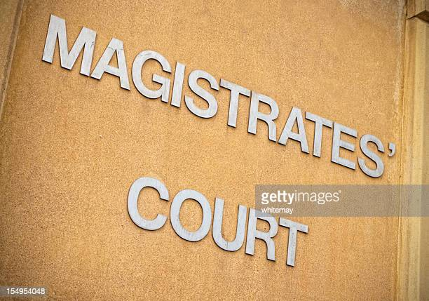 Magistrates' Court sign