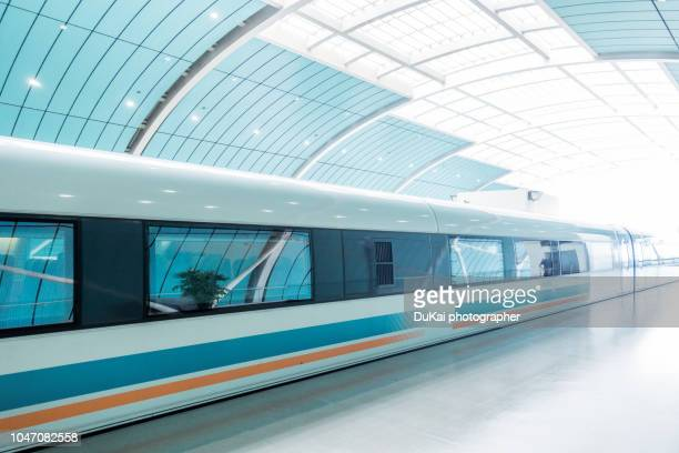 Maglev Train, Shanghai, China